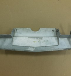 1976 1977 oldsmobile cutlass supreme license plate gas door bumper fille [ 1600 x 1200 Pixel ]