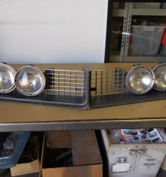 1968 buick riviera grill and hide away headlight  [ 4608 x 3456 Pixel ]