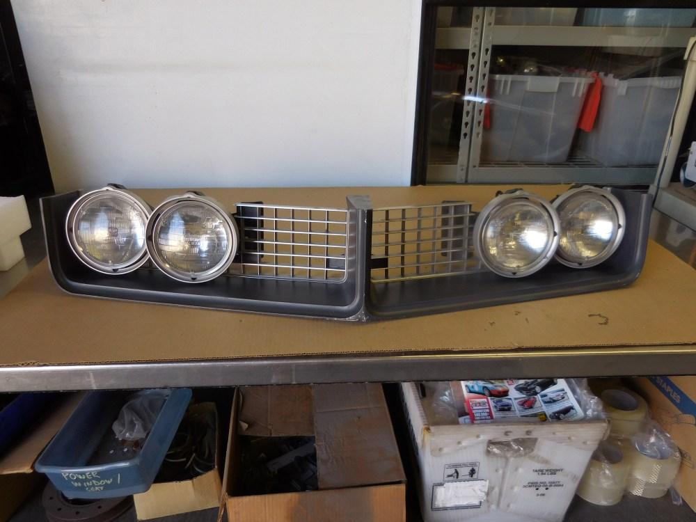 medium resolution of 1968 buick riviera grill and hide away headlight