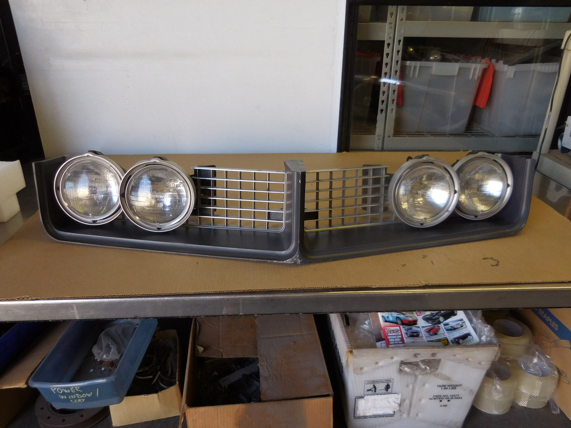 hight resolution of 1968 buick riviera grill and hide away headlight