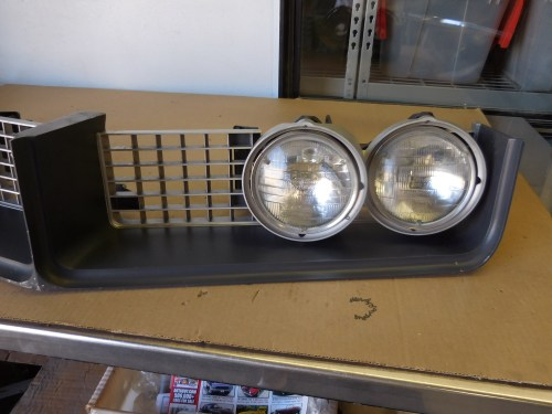 small resolution of 1968 buick riviera grill and hide away headlight