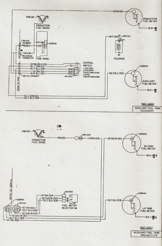 Chevy Dual Fuel Tank Wiring Diagram : chevy, wiring, diagram, Gauge, Wiring, Square, Truck, Forum