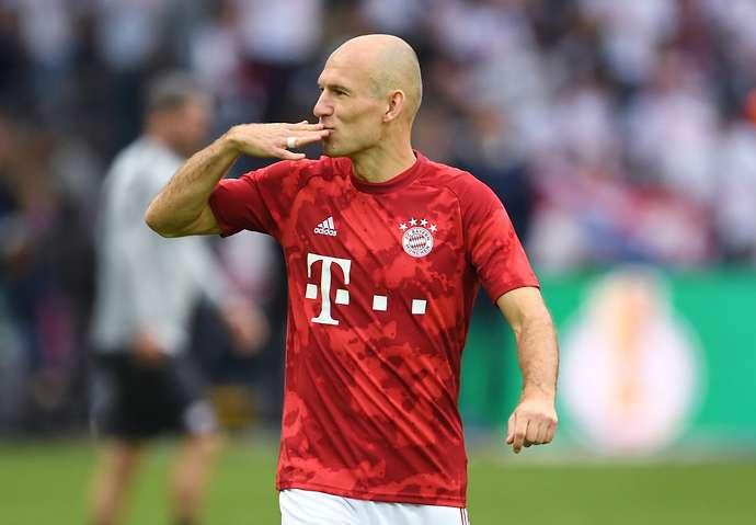 Robben with Bayern