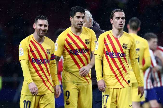 Barca's front three are frightening