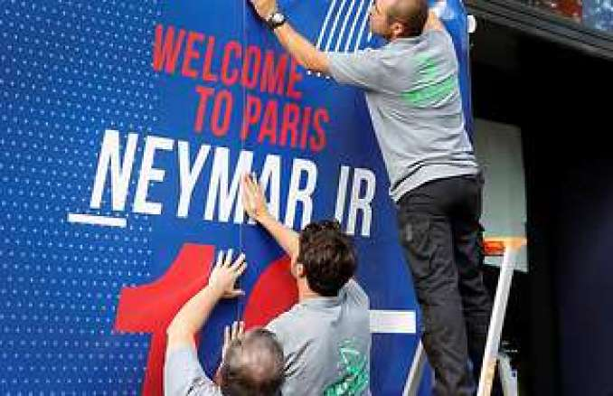 Welcome to Paris - Neymar Jr
