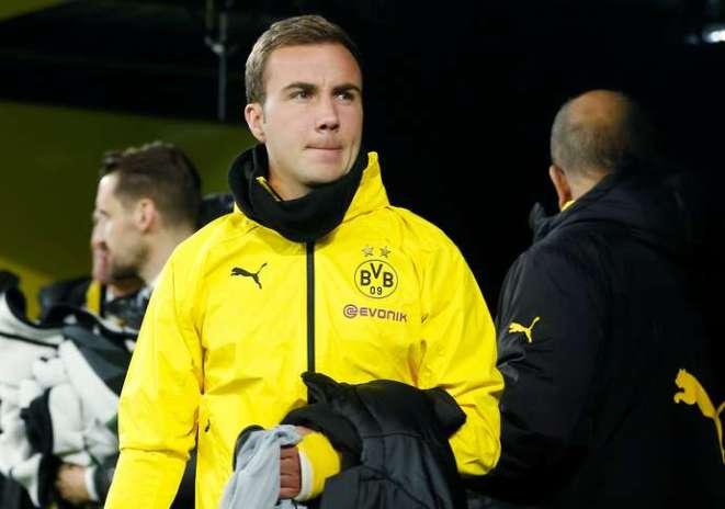 Gotze with Dortmund