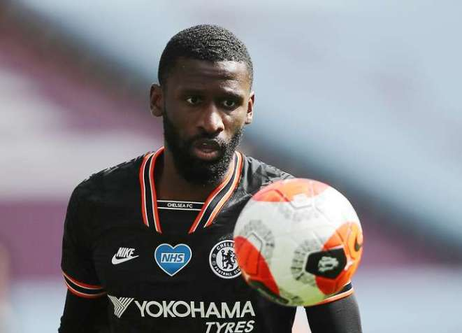 Rudiger with Chelsea