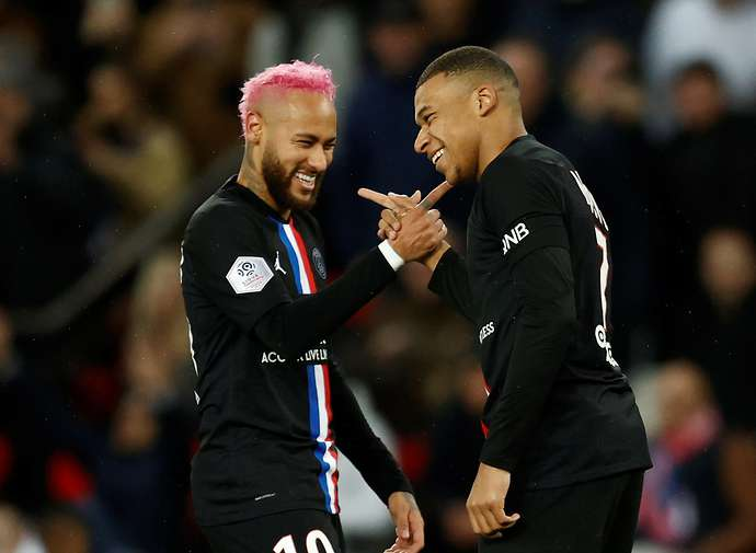 Neymar and Mbappe make the side