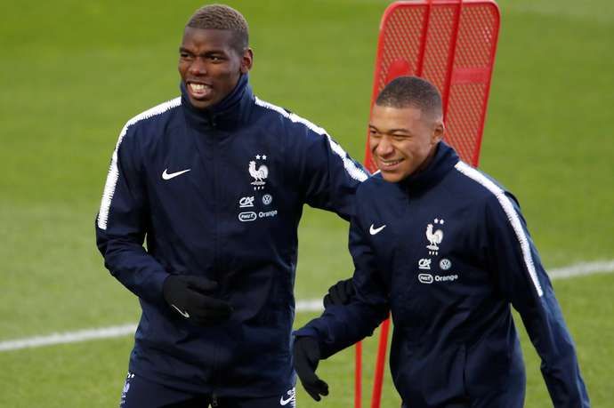 Pogba and Mbappe