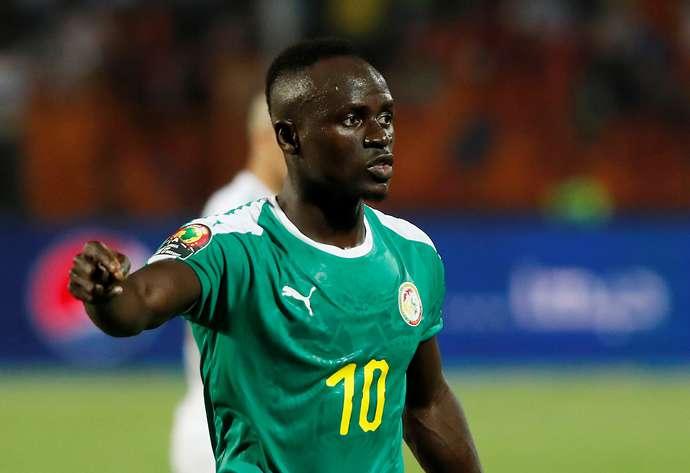 Mane with Senegal