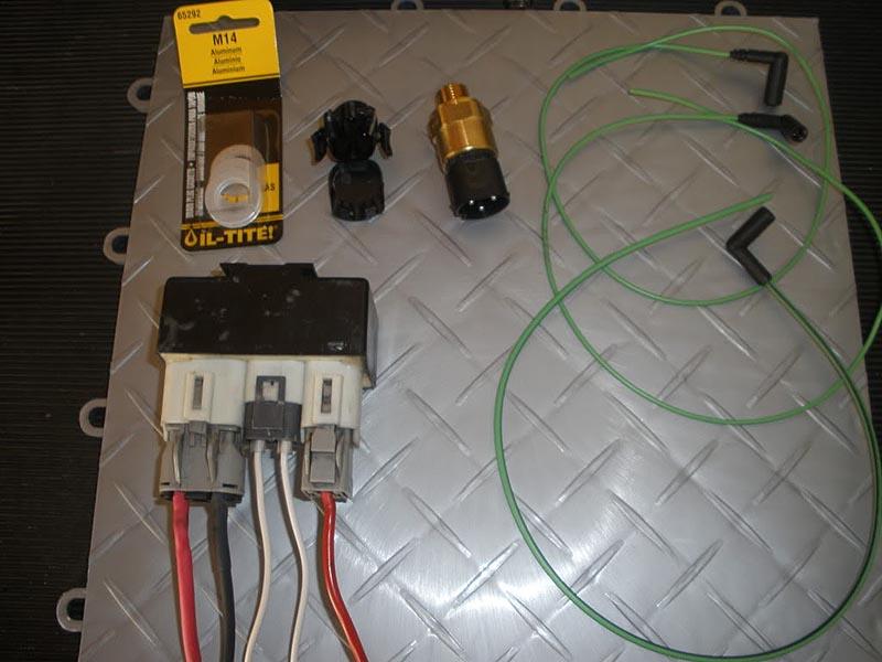 Electric Radiator Fan Wiring Diagram Markviii E Fan Install Gm Truck Central
