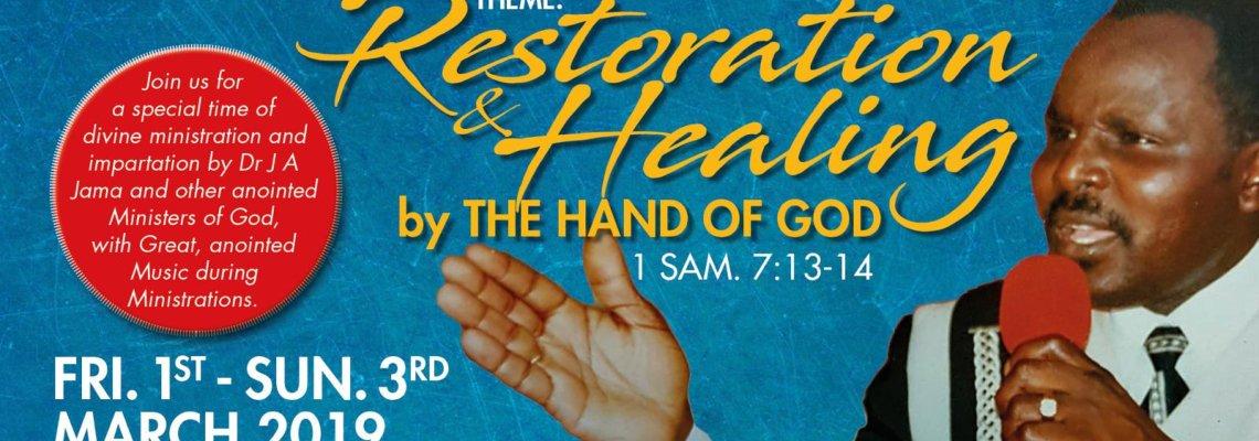 Restoration & Healing Conference