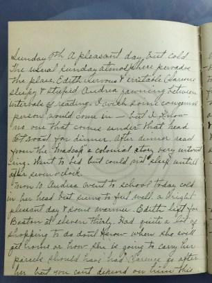 1927.01.09-10 - Annie F Morris diary