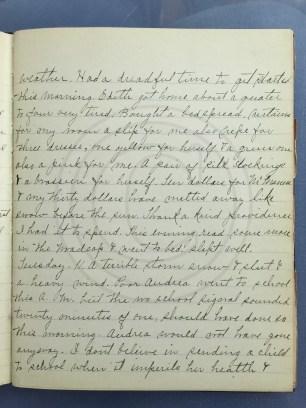 1927.01.10-11 - Annie F Morris diary
