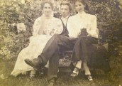Edith, Fred and Lucy