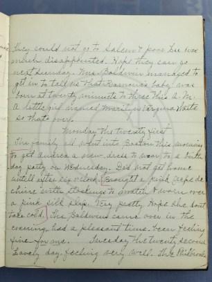 1927.02.20-22 - Annie F Morris diary