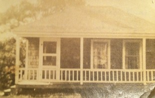 "labeled ""Aunt Gwen's cabin in Georgetown Maine"""