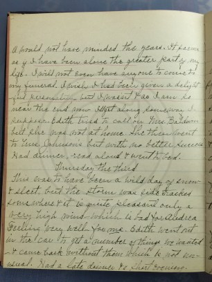 1927.03.02-03 - Annie F Morris diary