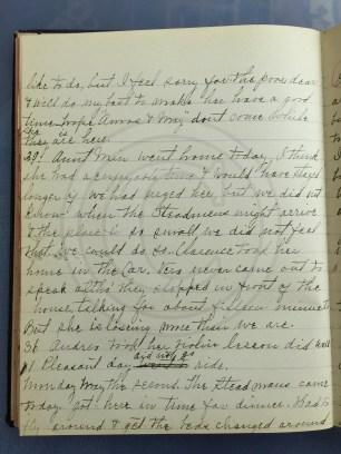 1927.04.28-05.02 - Annie F Morris diary