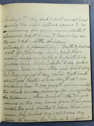 1927.05.20-21 - Annie F Morris diary