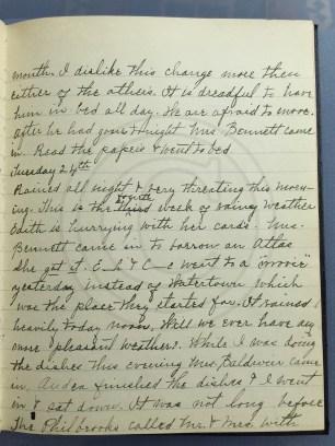1927.05.23-24 - Annie F Morris diary