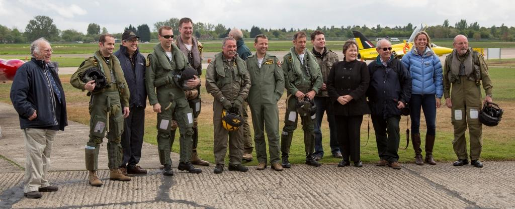 The Honourable Company of Air Pilots visits the team