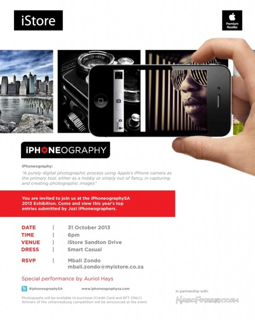 iPhoneography JHB Invite