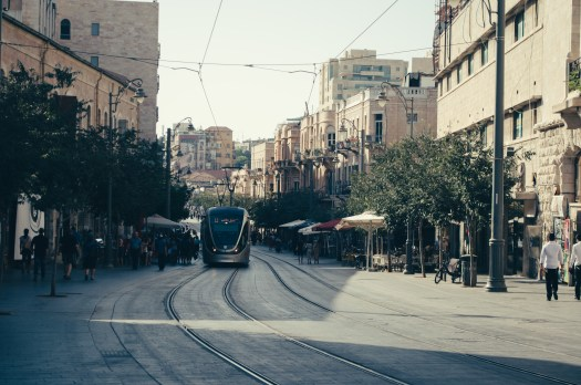An afternoon on Yafo Street