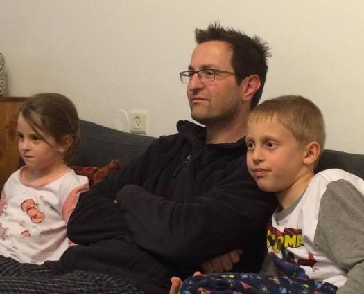 These 3 were entranced by Johnny Depp's  Willy Wonka