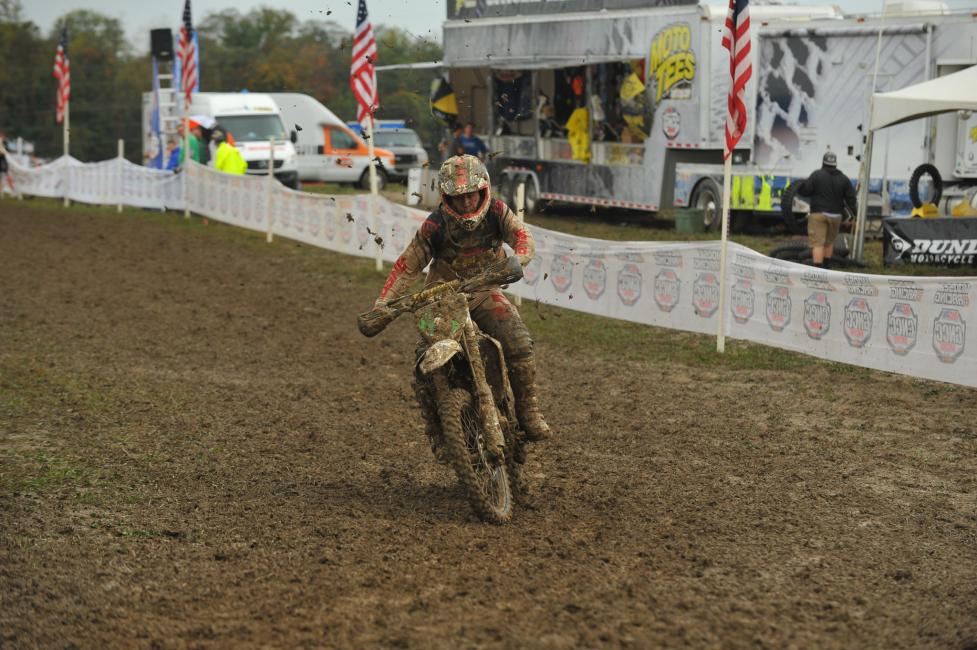 Craig Delong secured his first XC2 250 Pro win of the season in Ohio.