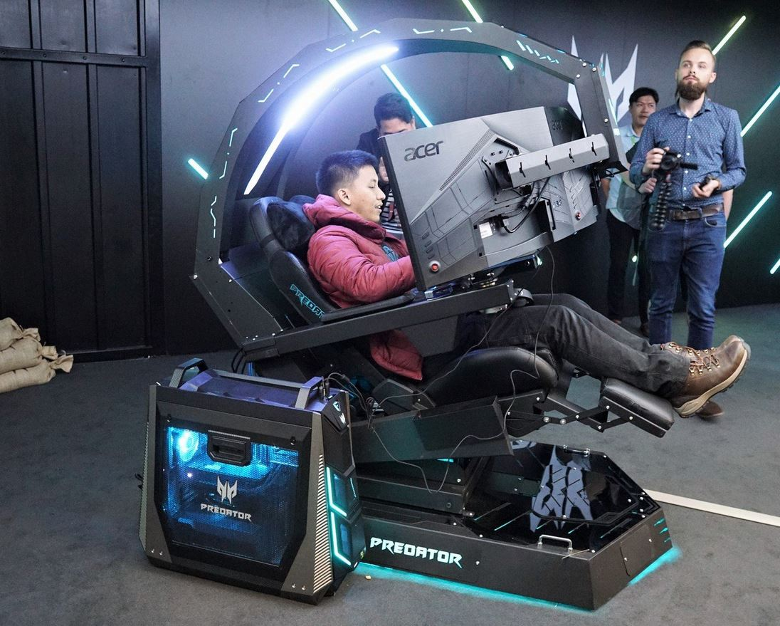 Scorpion Computer Chair Acer Releases Predator Thronos Fully Immersive Gaming