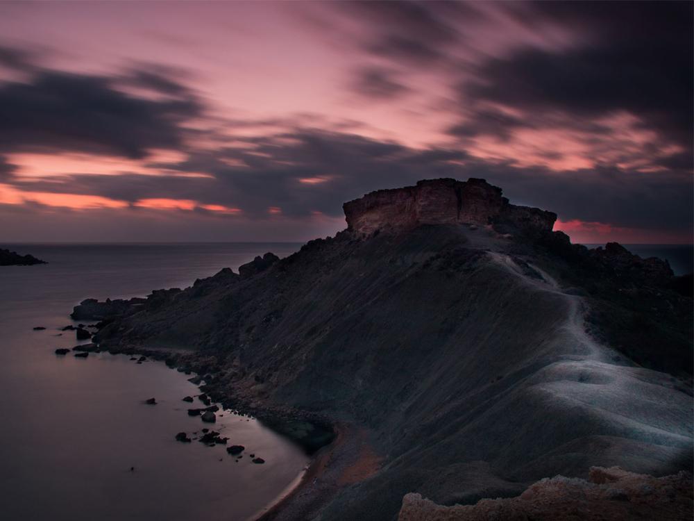 Qarraba after sunset