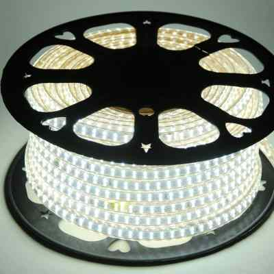 TIRA LED ROLLOS DE 50M 2835 DE 10mm 220V BLANCO