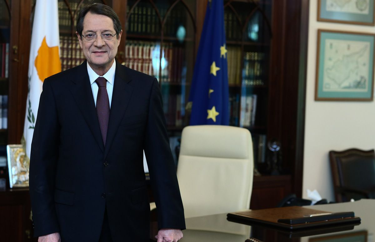 "Introductory note of the President of the Cypriot Democracy Mr. Nicos Anastasiades on the publication of ""History of Cyprus"" Volume B' of Melathron Ecumenical Hellenism"