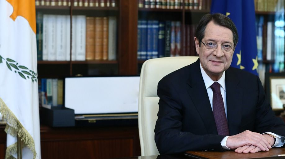 Greetings from the President of Cypriot Democracy Mr. Nicos Anastasiades for the event of Melathron Ecumenical Hellenism on the 24th of June 2019 in Cyprus