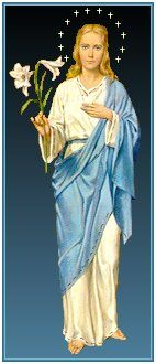 Prayers - For Parents - Chaplet Our Lady Lilies - Our Lady of the Lilies