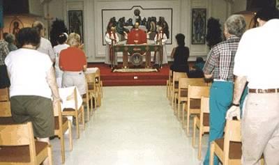 Mass at the 1st Good News School