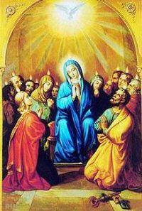 Prayers - Holy Spirit Novena for son or daughter - Pentecost