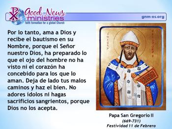 Papa San Gregorio II