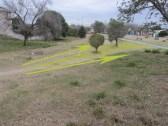 Analisis de caminos y concepto de forestación pública en el Parque Sur San Vicente