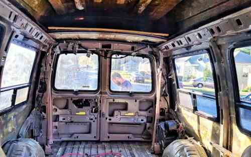 small resolution of gutting our conversion van