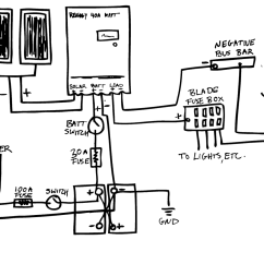 Wiring Diagram For Solar Panel To Battery Spotlight Relay Epic Guide Diy Van Build Electrical And
