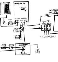 epic guide to diy van build electrical how to install a campervan camper electrical system schematic [ 1200 x 855 Pixel ]