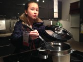 Molly cooks up something delicious at IKEA.