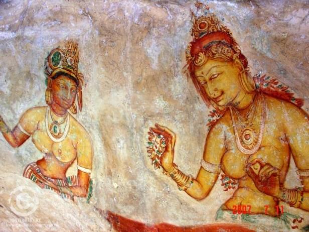 Sigiriya- drawing