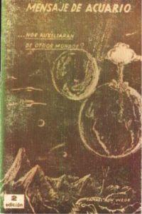 Portada original del libro El Mensaje de Acuario del VM Samael Aun Weor