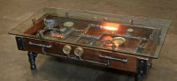 Steampunk coffee table  Gnostalgia
