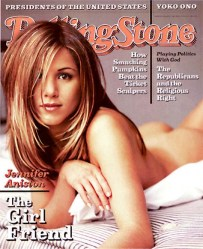 If people objected to Jennifer Aniston's butt, that's their problem! (Rolling Stone)