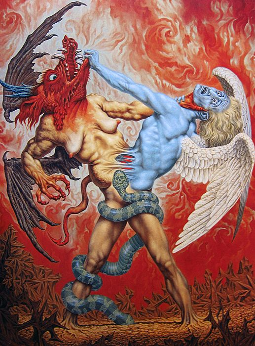 the_struggle_between_good_and_evil_by_johfra_bosschart