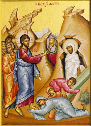 Lazarus-resurrection